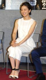 NHK BS時代劇『神谷玄次郎捕物控2』記者会見に出席した中越典子 (C)ORICON NewS inc.