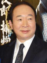 NHK BS時代劇『神谷玄次郎捕物控2』記者会見に出席した中村梅雀 (C)ORICON NewS inc.