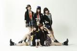 タイ・バンコクで初開催される『Anime Idol Asia』に出演する「夢みるアドレセンス」(写真前列左が志田友美)