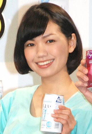 サムネイル 初のお酒CMに出演を喜んだ二階堂ふみ (C)ORICON NewS inc.