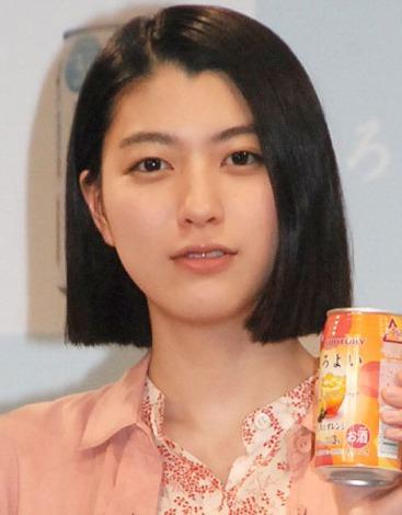 サントリーチューハイ『ほろよい』新CM発表会に出席した成海璃子 (C)ORICON NewS inc.