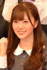 日本テレビ『NOGIBINGO!4』の収録後、会見に出席した白石麻衣 (C)ORICON NewS inc.