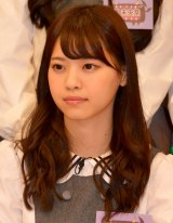 日本テレビ『NOGIBINGO!4』の収録後、会見に出席した西野七瀬 (C)ORICON NewS inc.