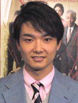 舞台『正しい教室』公開リハーサル後に会見に出席した井上芳雄 (C)ORICON NewS inc.
