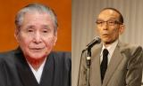 桂米朝さん(左)訃報にコメントを寄せた桂歌丸(右)