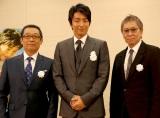 (左から)さだまさし、大沢たかお、三池崇史監督 (C)ORICON NewS inc.