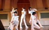 デビューシングルのリリースイベントを開催したM!LK。(C)SDR