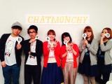 チャットモンチー+男陣(恒岡、下村)+乙女団(世武、北野)が集合