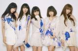 「Bye Bye My Days」で18日にメジャーデビューした夢みるアドレセンス(写真左から小林玲、志田友美、荻野可鈴、京佳、山田朱莉)