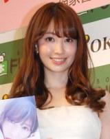 AKB48選抜総選挙の出馬について語った小嶋陽菜 (C)ORICON NewS inc.