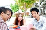 外国人留学生と日本人学生が共同で生活する学生寮も
