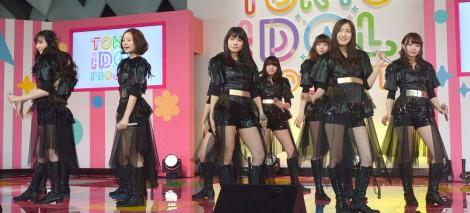 『TOKYO IDOL PROJECT』の記者発表会に出席したアイドリング!!! (C)ORICON NewS inc.