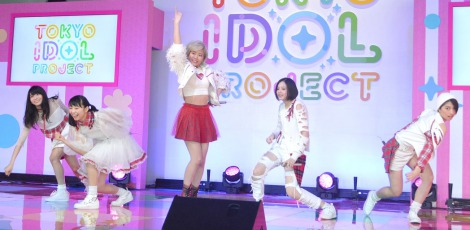 『TOKYO IDOL PROJECT』の記者発表会に出席したベイビーレイズJAPAN (C)ORICON NewS inc.
