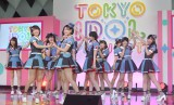 『TOKYO IDOL PROJECT』の記者発表会に出席したHKT48 (C)ORICON NewS inc.