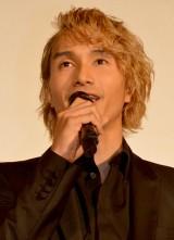 新アルバム『19-Road to AMAZING WORLD-』完成記念イベントに出席した橘ケンチ (C)ORICON NewS inc.