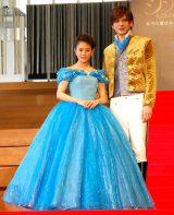 シンデレラと王子の衣装で登場した(左から)高畑充希、城田優 (C)ORICON NewS inc.