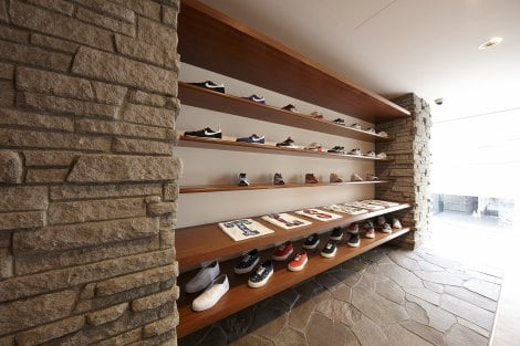 「A+S(Architecture and Sneakers)」内観写真