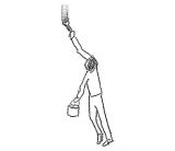 浅野忠信が描くLINEスタンプ「日常」