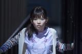 恐怖におののく表情を見せる(C)2015『劇場霊』製作委員会