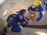 「激レア宇宙バイト」復活!無重力状態になる約20秒間でアルバイトの作業ができるのか