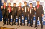 『フェットチーネグミ』の新CM発表会に出席したGENERATIONS from EXILE TRIBE (C)ORICON NewS inc.