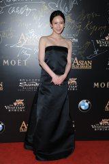 『第9回アジア・フィルム・アワード』で「Excellence in Asian Cinema Award」を受賞した中谷美紀