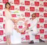(左から)石田ゆり子、じゅんいちダビッドソン (C)ORICON NewS inc.