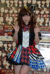 東京・渋谷公会堂で開催の卒業ライブ前に会見したアイドリング!!!13号長野せりな (C)ORICON NewS inc.