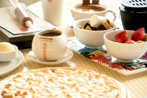 『MAX BRENNER CHOCOLATE BAR』イートインイメージ
