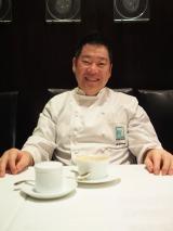 イタリアンレストラン「ポンテベッキオ」のオーナーシェフ、山根大助氏