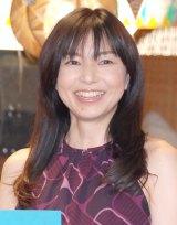 新ドラマ『心がポキっとね』の記者会見に出席した山口智子