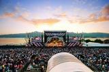 草津市烏丸半島で開催している滋賀県下最大の大型野外ライブイベント『イナズマロックフェス』