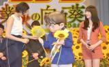 映画『名探偵コナン 業火の向日葵』完成披露試写会舞台あいさつの模様 (C)ORICON NewS inc.