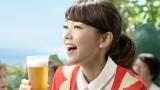 発泡酒 『サッポロ 極ZERO(ゴクゼロ)』新CMに出演する桐谷美玲