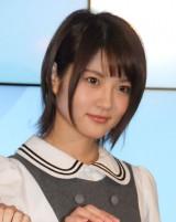 『乃木坂46カフェ2015〜命は美しい〜』オープニングセレモニーに出席した若月佑美 (C)ORICON NewS inc.