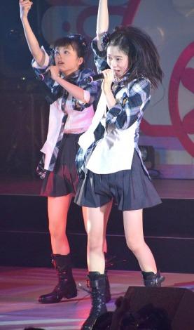 「汚れている真実」を初披露したチーム8選抜メンバーの中野郁海(鳥取代表)
