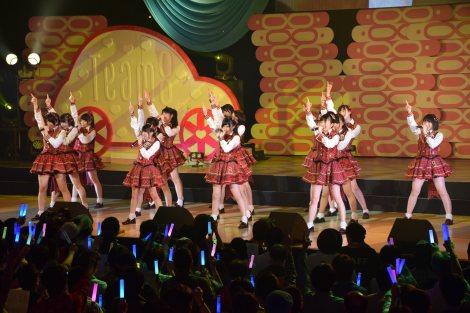 AKB48チーム8結成1周年記念特別公演より (C)ORICON NewS inc.