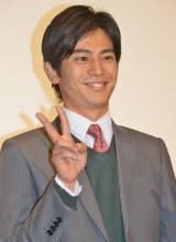 『東京闇虫パンドラ』初日舞台あいさつに出席した牧田哲也 (C)ORICON NewS inc.