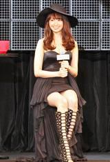 『sweet』(宝島社)主催のイベント『sweet collection 2015』に登場したAKB48・小嶋陽菜(撮影:BACON/沼尻年弘) (C)oricon ME inc.
