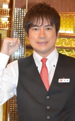 日本テレビ系新番組『キャラオケ18番』MCを務める羽鳥慎一アナウンサー (C)ORICON NewS inc.