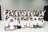 AKB48グループのメンバーと初対面したドラフト候補者たち(C)AKS