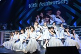 こじ坂46の「風の螺旋」が54位=『AKB48リクエストアワー セットリストベスト1035 2015』4日目夜公演(C)AKS