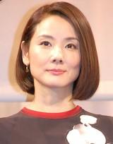 映画『ビリギャル』完成披露試写会舞台あいさつに出席した吉田羊 (C)ORICON NewS inc.