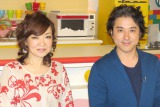 テレビ初共演となる(左から)清水ミチコ、ムロツヨシ (C)ORICON NewS inc.