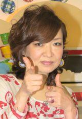 『妄想ニホン料理』初回収録後の会見に出席した清水ミチコ (C)ORICON NewS inc.