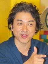 『妄想ニホン料理』初回収録後の会見に出席したムロツヨシ (C)ORICON NewS inc.