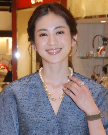サムネイル 再婚後、初めて公の場に登場した高垣麗子 (C)ORICON NewS inc.