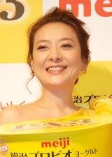 『明治プロビオヨーグルトPA-3』発売記念イベントに出席した西川史子 (C)ORICON NewS inc.