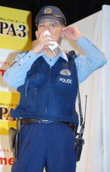 『明治プロビオヨーグルトPA-3』発売記念イベントに出席した柳沢慎吾 (C)ORICON NewS inc.
