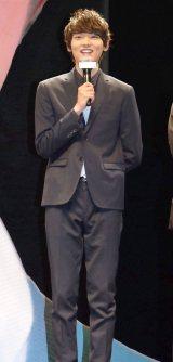 映画『脳内ポイズンベリー』の完成披露試写会に出席した古川雄輝 (C)ORICON NewS inc.
